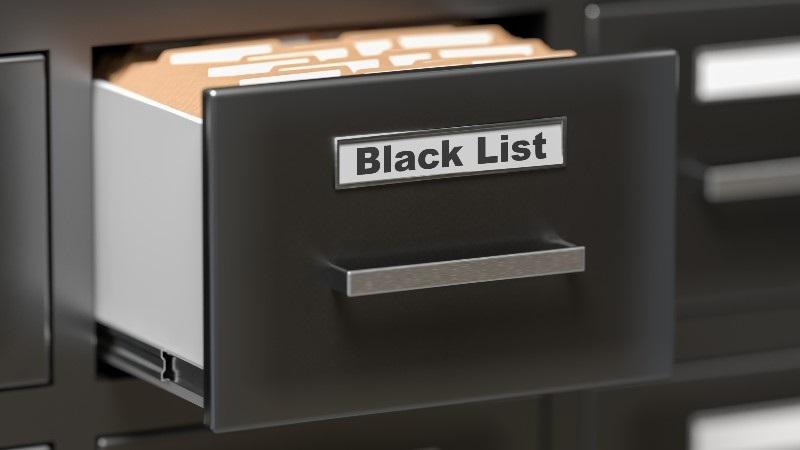 ブラックリストボックス