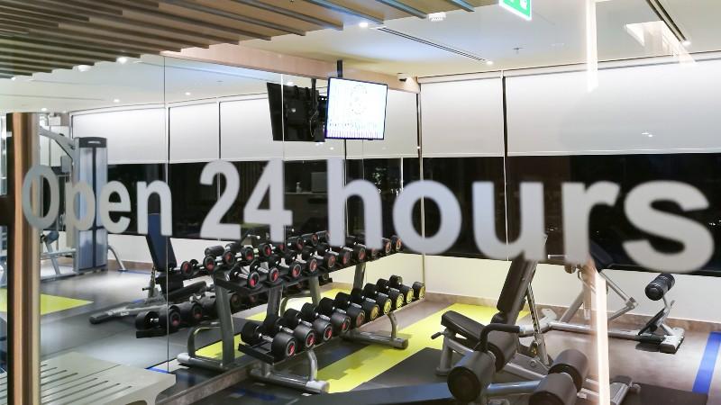 24時間営業のジム