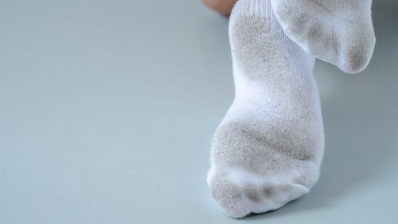 汚れた靴下