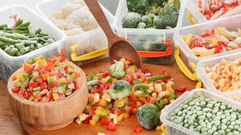 時短商品と冷凍食品