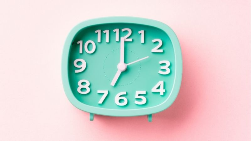 19時の時計