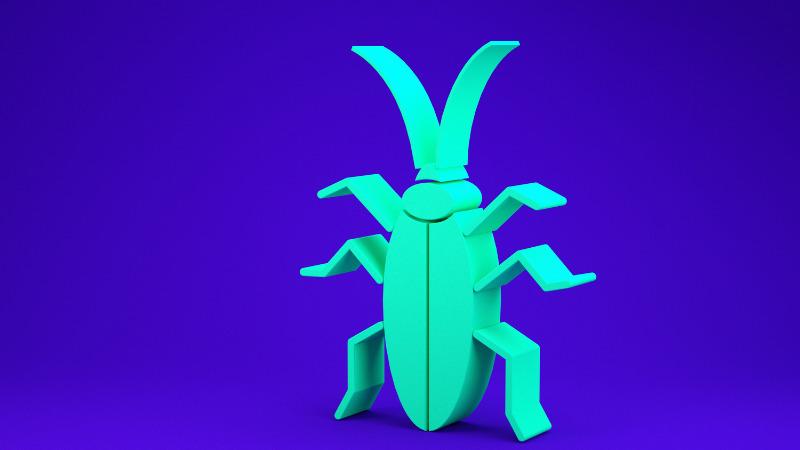 哀れなゴキブリ